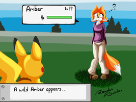 A wild Amber... by Mancoin