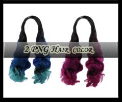 2 Png Hair Color by Owl666PS