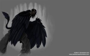 Harpy wallpaper by chillier17