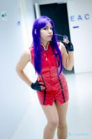 Misato Katsuragi red dress II by misatomireille
