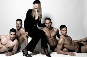 cool men IV - and a woman by syula