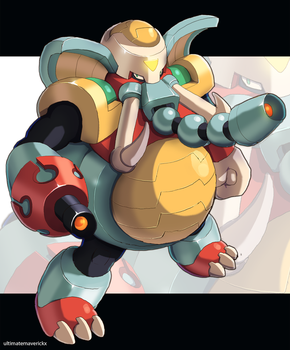 Flame Mammoth by ultimatemaverickx