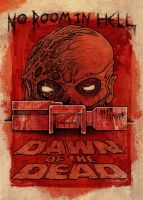 Dawn Of The Dead colour by ayillustrations