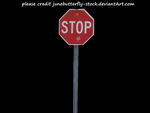 stop sign png by JuneButterfly-stock