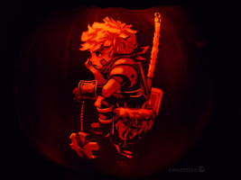 Bastion Pumpkin by ceemdee