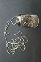 FOXHOUND Dog Tag by sabresteen