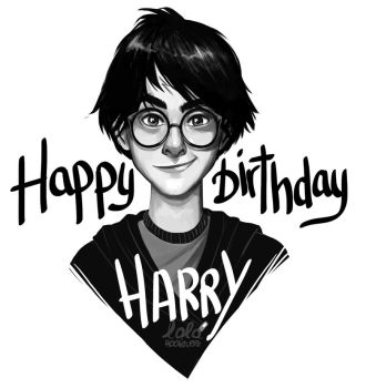 Happy Birthday Harry by Loleia