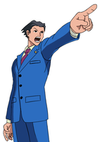 Phoenix Wright, Ace Attorney at Law by ExplainableChaos