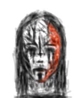 bloody corpse paint by IvyI