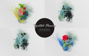 Spotted Flowers Texture Pack by Marysse93