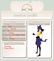 PokeJinka App: Ziya by Not-Even-The-Turtle