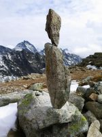 Balanced stones by Zbranek