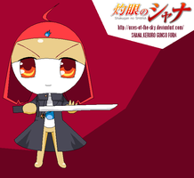 Shana, the fire-red-eyed Keron by aces-of-the-sky