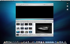 WindowBlinds OS X Explorer by expressIT