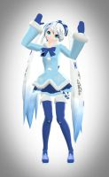 2012 Snow Miku by Sithlord43