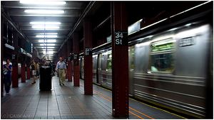 - NYC Subway - by Cam-lou-photos