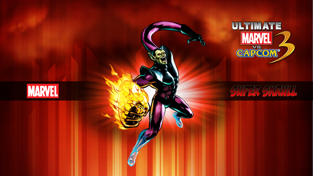 Ultimate MvC3 Super Skrull by CrossDominatriX5