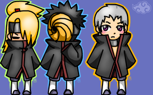 My Favourite Akatsuki Members by Silly-Caracal