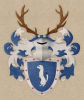 Personal coat of arms by sagitarius