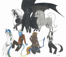 EquineXchange - Group Picture by spiderling00