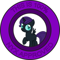Nyx' stamp of approval by CreativeNyx