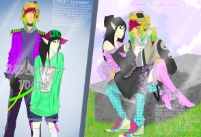Couple in Fashion by HastyLion