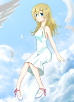 Sitting on the clouds by timeserious