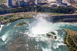 Niagara Falls from Above by rosswillett