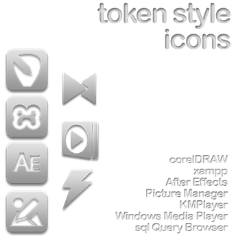 token style icons by giodim