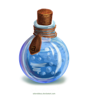 Level 3 Mana Potion - OPEN by adorabless