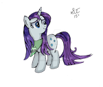 Rarity wet mane inked by TenshiHoshino