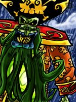 LeChuck painting 2 by theEyZmaster
