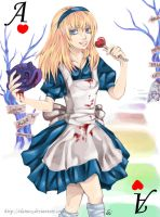 Ace 1 Alice in Wonderland by ElaineX