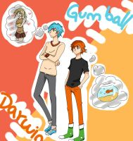 The Amazing World of Gumball Anime by SGVS