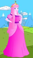 Disneyfied Adventure Time: Princess Bubblegum by Willemijn1991