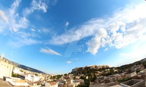 A View of Acropolis , Greece , Athens by SpicyBaby