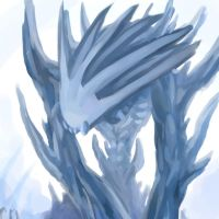 Ice Golem OC by yedi