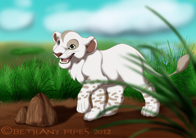 Taye in the Pridlands by EireannWolf