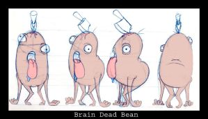 Brain Dead Bean by LunarDawn