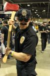 long beach comic expo  - axe cop by antshadow13