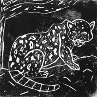 Lino Leopard by Lish-55