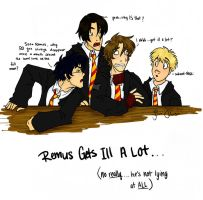Remus Gets Ill A Lot by eightbreeze