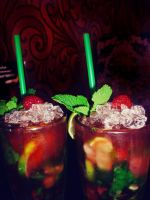 strawberry mojito by Lemonshortcake