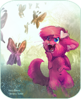 Flared-Up Butterflies by Reptonic