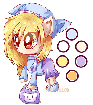 [ADOPTABLE AUCTION] Kiiro [OPEN] by Sweet-Pillow