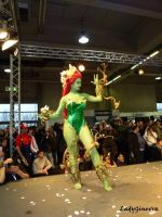 Poison Ivy on stage by LadyGinevra