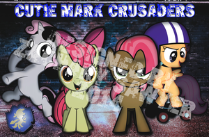 Cutie Mark Crusaders Poster by iamthemanwithglasses