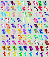 Mass Adoptable Sheet 5 Points Per Pone. OPEN by RessurectedNightmare