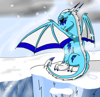 Princess of the frozen lands by WingedWilly
