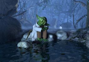 Yoda by denisogloblin
